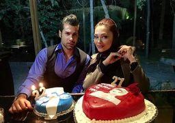 محسن فروزان در یک جشن تولد از سوی همسرش غافلگیر شد ! +عکس