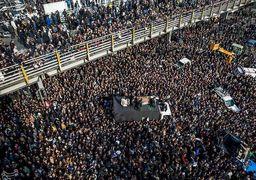 پوشش زنده مراسم تشییع پیکر آیت الله هاشمی رفسنجانی