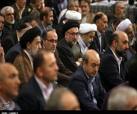 چهرههای اصلاحطلبی که در مراسم افطاری رهبری حضور داشتند +تصاوی