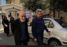 تصاویر تشییع پیکر اولین فرمانده سپاه پاسداران با حضور چهرههای اصلاحطلب