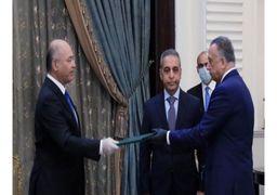 ادای سوگند الکاظمی بعنوان نخست وزیر جدید عراق