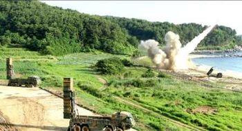 واکنش شدید کره شمالی به مانور موشکی آمریکا و کره جنوبی