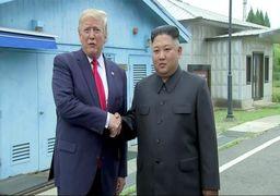 دیدار  سوم ترامپ و کیم جونگ اون/ ترامپ؛ اولین رئیسجمهور آمریکا که قدم به خاک کره شمالی گذاشت
