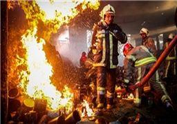 هشدار آتش سوزی ساختمان پلاسکو برای شهرک های صنعتی