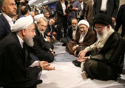 گزارش تصویری دیدار کارگزاران نظام و مقام معظم رهبری