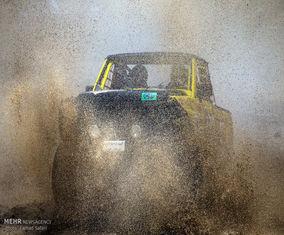 تصاویر مسابقات اتومبیلرانی بین المللی آفرود قزوین