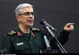 واکنش سرلشگر باقری به حضور ناوهای آمریکایی در خلیج فارس / احتمال حمله تروریستهای تکفیری به سکوهای نفتی ایران