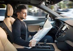 کنترل خودروی خودران با یک انگشت !