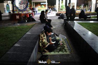 احیای شب بیست ویکم ماه مبارک رمضان درجوار حرم علی ابن موسی الرضا(ع)