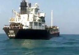 کشتی توقیف شده توسط ایران در حال قاچاق سوخت بود