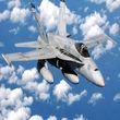 تعقیب هواپیمای وزیر دفاع روسیه توسط جنگنده اف 18 ناتو + فیلم