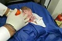 کشف نوزاد سه روزه را در سطل آشغال پارک قوچان