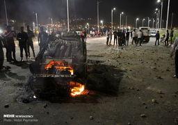 تصاویر مرگبار نفتکش و اتوبوس در سنندج که 13 کشته داشت