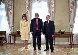 واکنش عجیب همسر ترامپ پس از خوشوبش با پوتین!