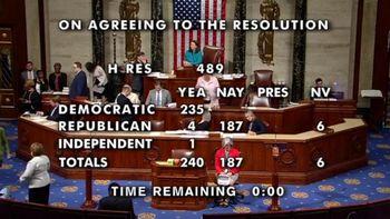 مجلس آمریکا علیه ترامپ قطعنامه صادر کرد