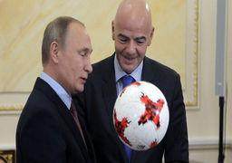 پیش بینی پوتین از قهرمان جام جهانی 2018