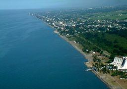 کاهش 1.5 متری تراز آبی دریای خزر