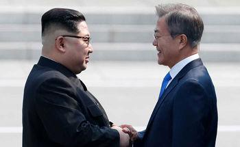 فیلم دویدن محافظان رهبر کره شمالی به دنبال لیموزین!