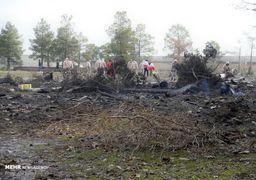 سقوط هواپیمای بوئینگ ۷۰۷ ارتش در حوالی کرج +تصاویر