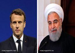 تماس روحانی با مکرون برای مقابله با کرونا و رفع تحریمها