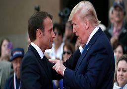 مکرون: ماموریت انتقال پیام بین ایران و G7 رسمی نیست