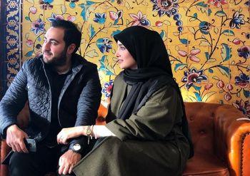 طلاق آناشید حسینی از پسر سفیر ایران + عکس