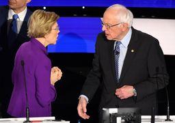 انشقاق در اردوگاه دموکراتها با تقابل علنی سندرز و وارن/ بحث داغ «ایران» در مناظره نامزدهای ریاستجمهوری