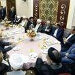 حضور پرتعداد چهره های سیاسی در مراسم ازدواج فرزند رئیس مجلس + عکس