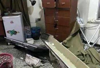 حمله موشکی به یک شرکت امنیتی انگلیسی+ تصاویر
