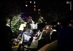 تصاویر سقوط بالگرد نظامی در استانبول