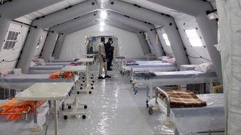بیمارستانهای صحرایی نیروی زمینی سپاه برپا شد