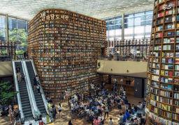 تصاویر جذاب از  کتابخانههای سراسر جهان