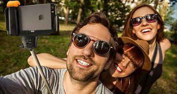 عکس سلفی بینی کاربران را بزرگتر نشان می دهد