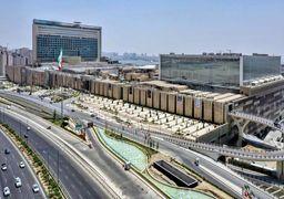 بازار بزرگ ایرانمال تعطیل شد؛ احتمال تبدیل ایران مال به بیمارستان موقت برای درمان بیماران کرونایی