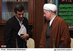 آیت الله هاشمی چگونه رفتار کرد؛ احمدینژاد چه میکند؟!