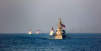 حضور گسترده نیروهای نظامی آمریکا در خلیج فارس