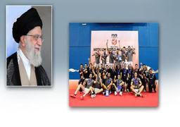 پیام رهبر انقلاب برای تیم ملی والیبال جوانان: دل ملت را شاد کردید