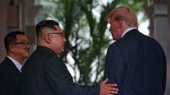 هدیه عجیب دونالد ترامپ به کیم جونگ اون