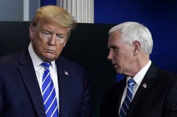 مهلت ۲۴ ساعته پنس برای کنار زدن ترامپ