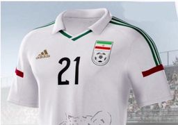 تیم ملی فوتبال ایران تنها کشوری که در جام جهانی اسپانسر ندارد!