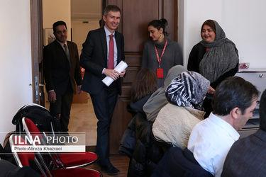 تصاویر نشست خبری «مارکوس لایتنر» سفیر سوئیس در ایران