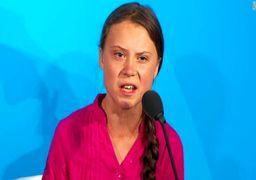 خطابه «گرتا تونبرگ» علیه رهبران جهان: نمیخواهم باور کنم که شما شیطان هستید
