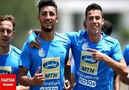 کمیته اخلاق دو بازیکن استقلال را محروم کرد