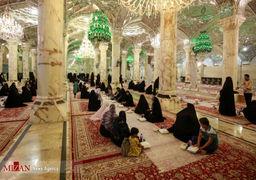 تصاویر افطاری در حرم مطهر علوی