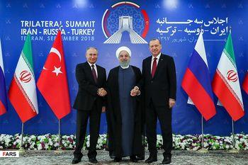 نشست روحانی، پوتین و اردوغان در مسکو برگزار میشود