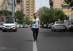 بدل ایرانی لیونل مسی