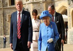 شکایت ملکه الیزابت از ترامپ !
