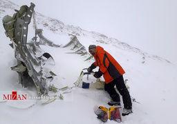 شب مانی امدادگران سقوط هواپیما در دمای منفی 30 درجه دنا