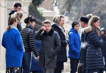 خداحافظی دیپلماتهای اخراج شده روسیه با خاک لندن /تصاویر