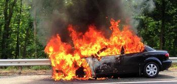 آیا باک بنزین خودرو پس از وقوع حریق منفجر می شود؟